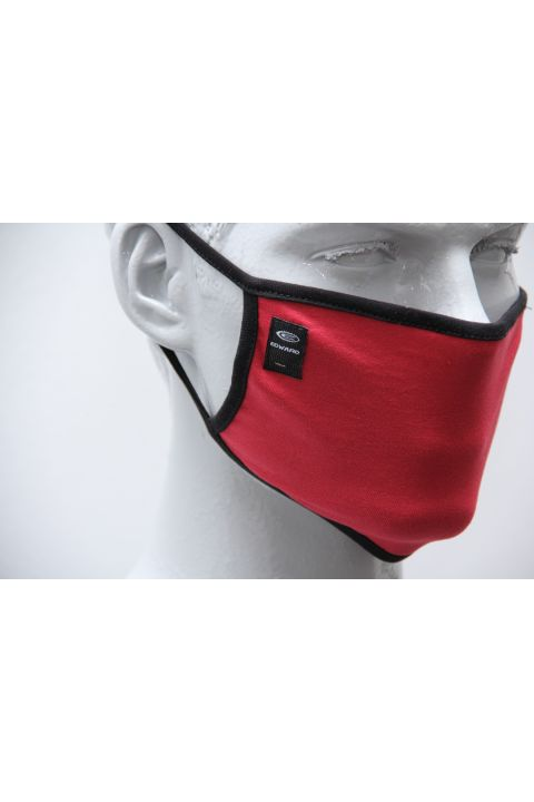PLAIN PROTECTION MASK, RED