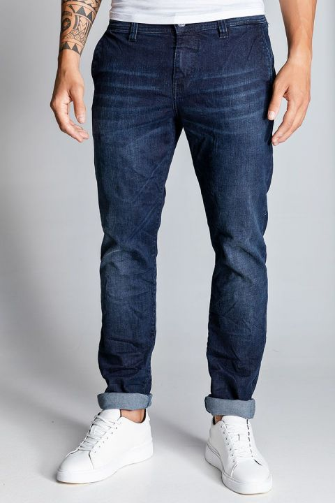 TRINE-W20 JEANS, DARK BLUE DENIM