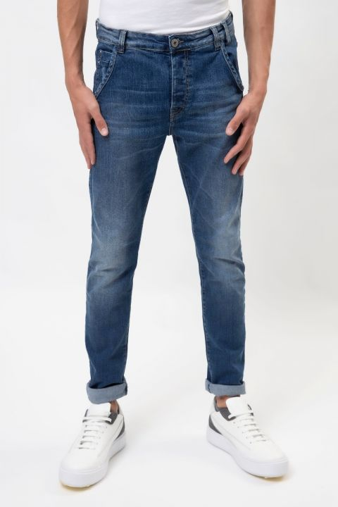 VALLEN-S20 JEANS, MEDIUM BLUE DENIM