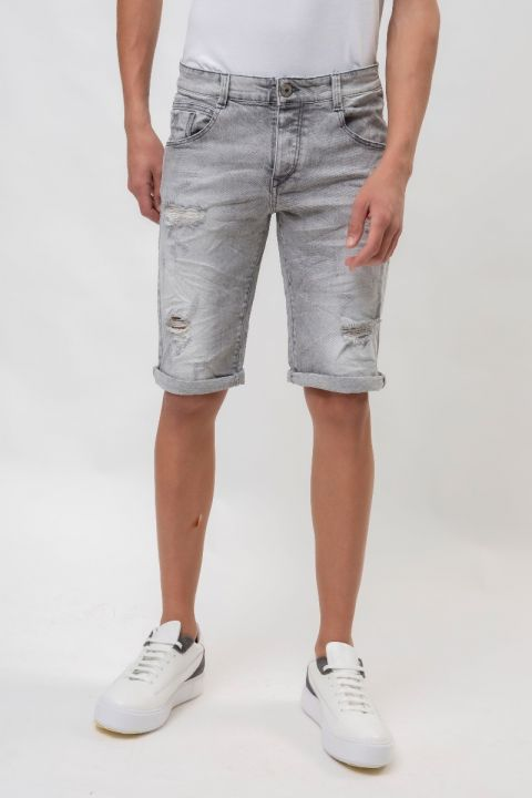 CORWIN-INOXS19 DENIM SHORTS, BLUE