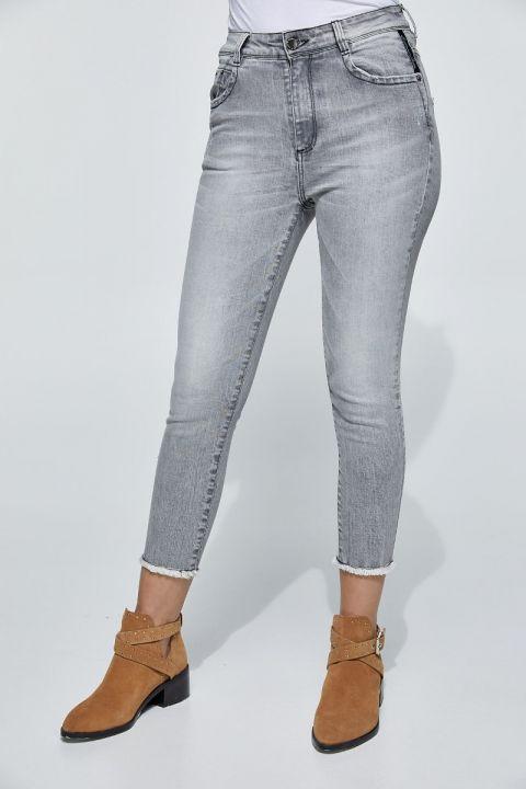 Dorie-Ncr Jeans, LIGHT GRAY DENIM