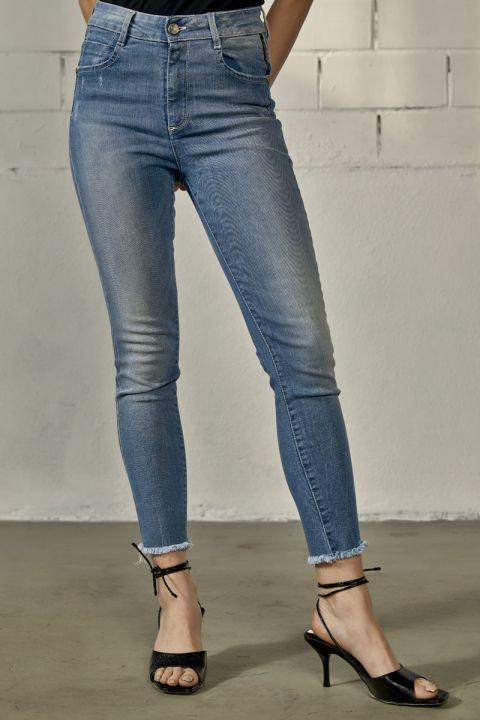 Dorie-Ln Jeans, MEDIUM BLUE DENIM