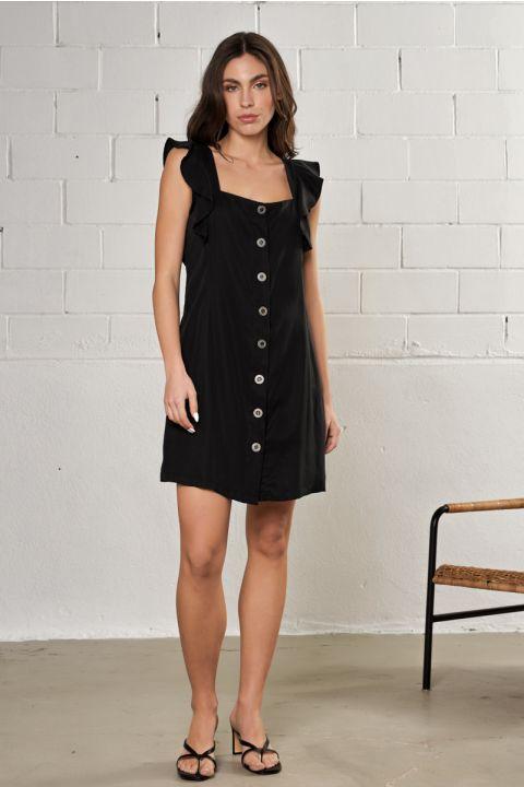 MARIELLA  DRESS, BLACK