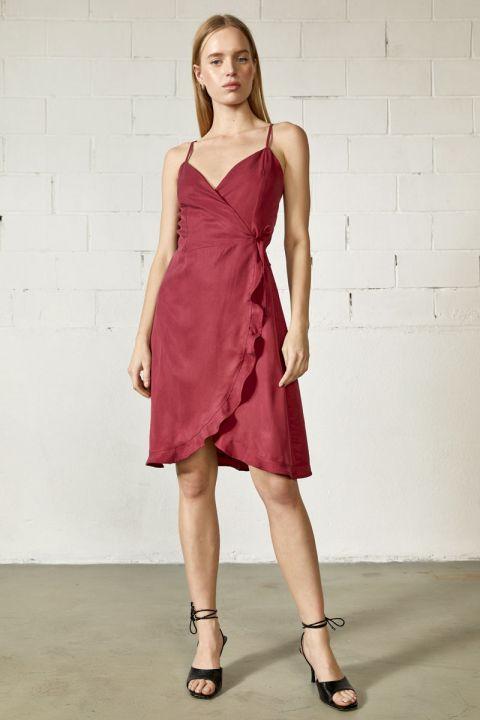 Jadiel-tt dress, BORDEAUX