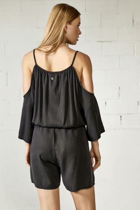 Redell Playsuit, BLACK
