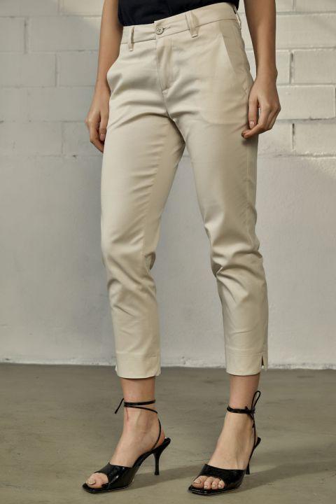 MAYA-MT PANTS, OFF WHITE