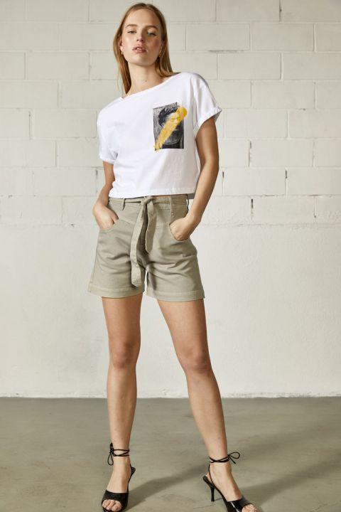 Lian-Rms Shorts, BEIGE