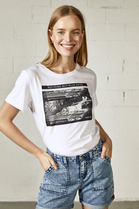 Taly T-Shirt, WHITE