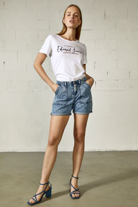 INTRA T-SHIRT, WHITE