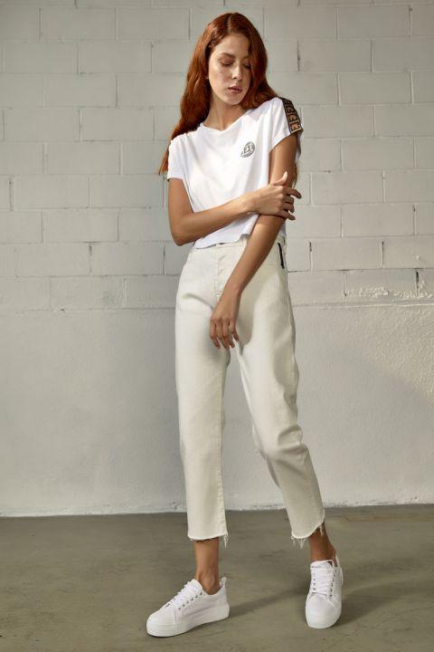 ROSINDA TOP, WHITE