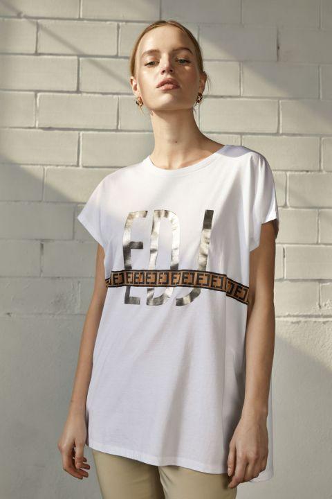Lorine T-Shirt, WHITE