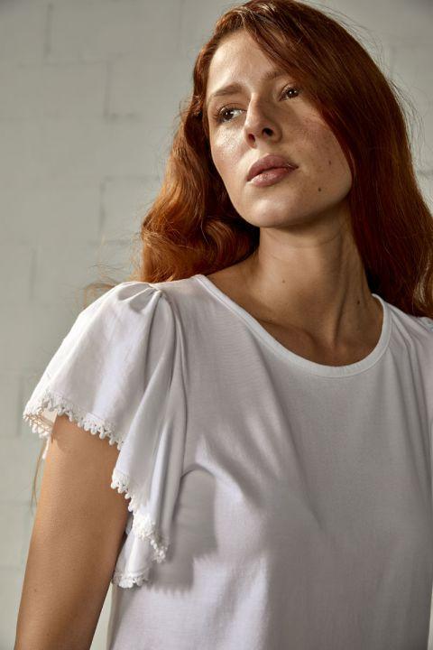 ALBERTINA TOP, WHITE