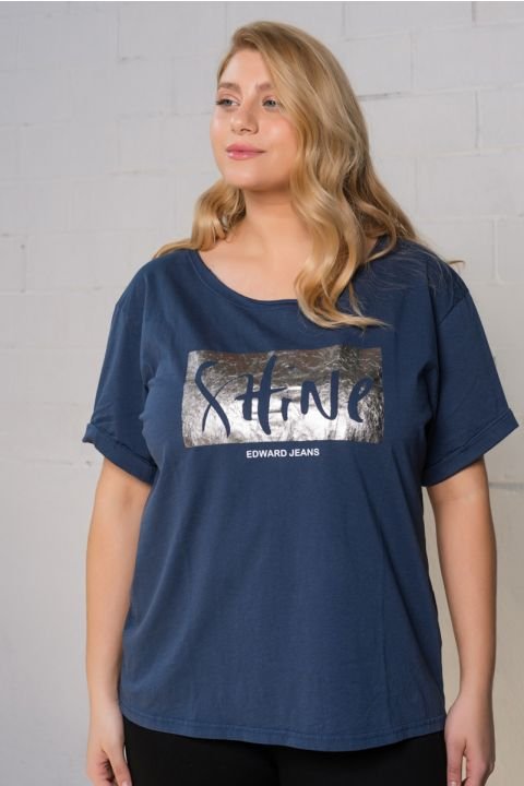 SOPHIE T-SHIRT, NAVY BLUE