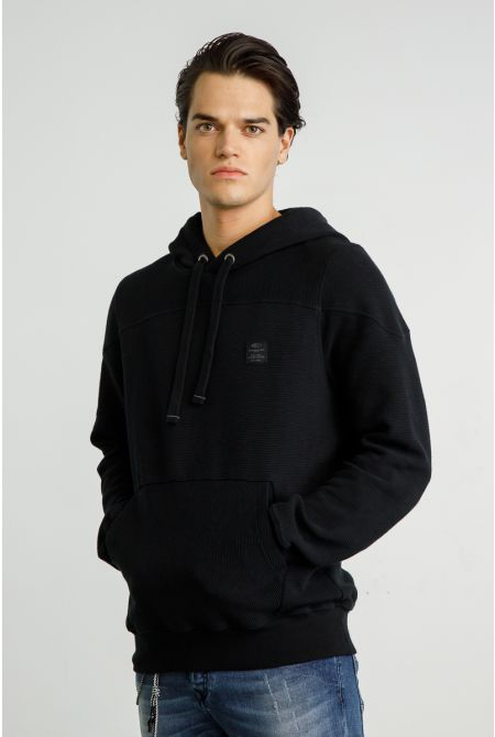 GENESI HOODIES, BLACK