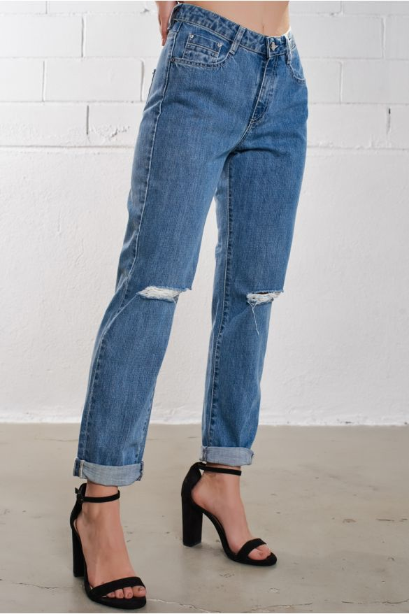 Clodia Ripped Jeans