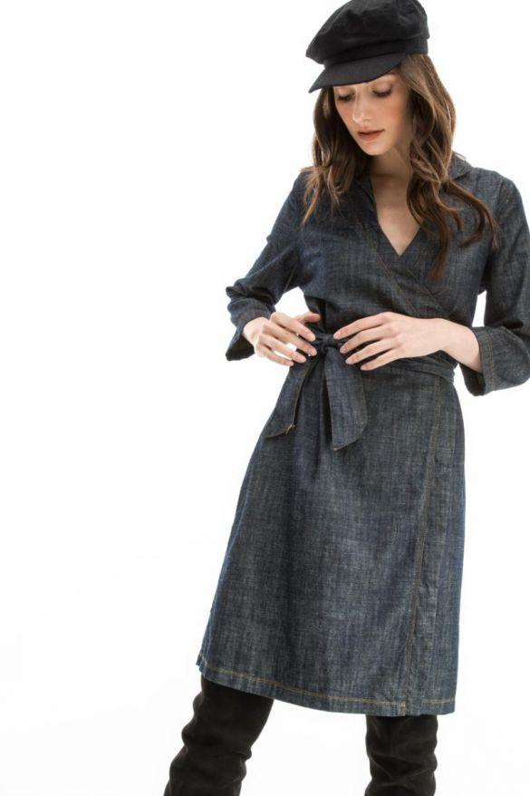 Zaira-W19 Denim Dress