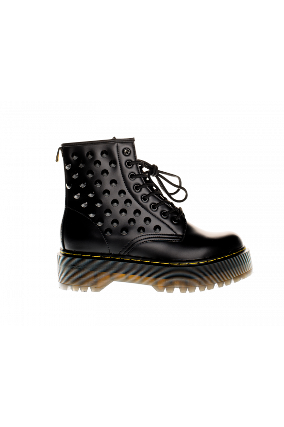 091-6 STUDDED ARMY BOOTS