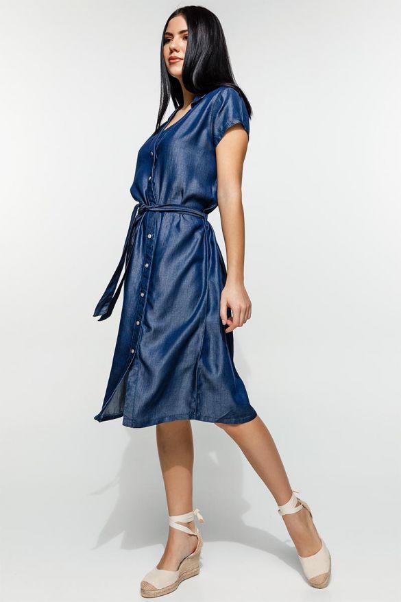 Miena-Mis  Denim Dress