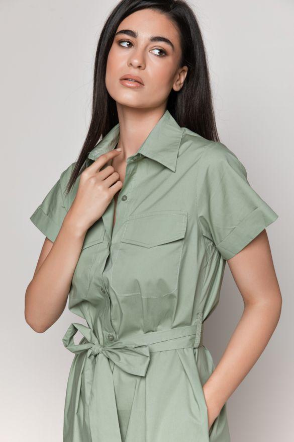 B232 Long Shirt-Dress