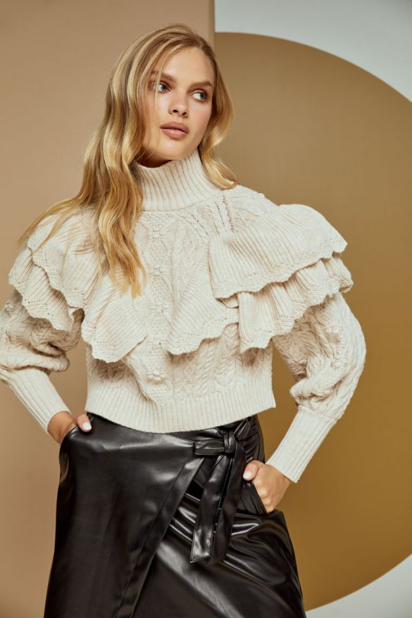 Juliette Knitted Top