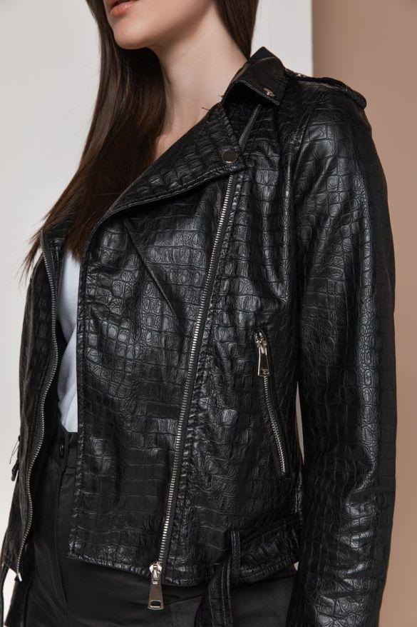 Hx-3917 Eco Leather Croco Perfecto