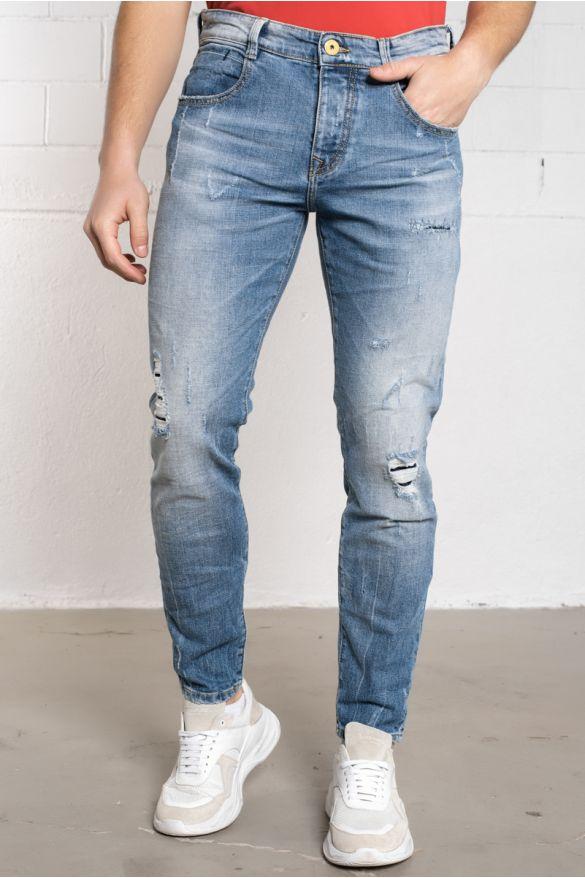 Bricen-Red Jeans