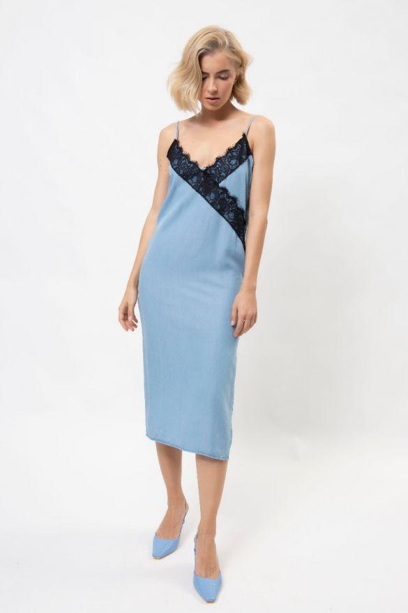 Laquita-Mis  Denim Dress