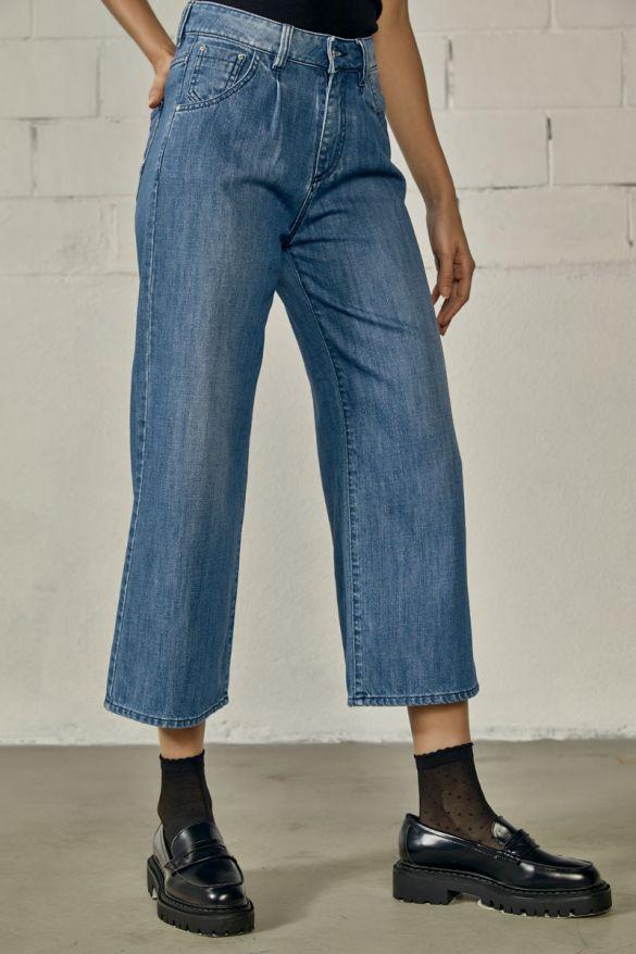 Elika-Rjn Cropped Jeans