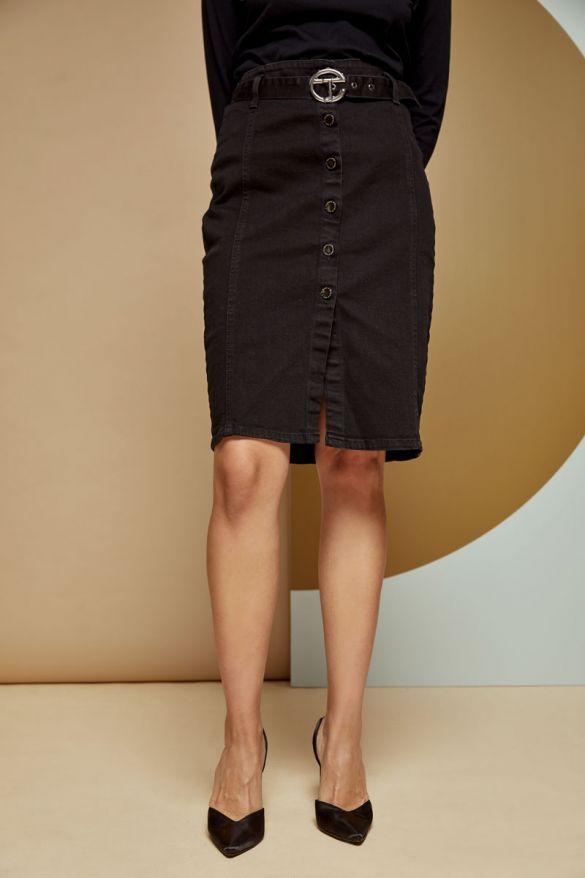 Rocket-b Denim Skirt