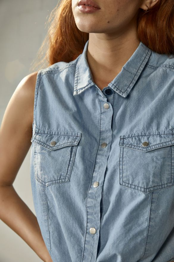Shirlyn Denim Shirt
