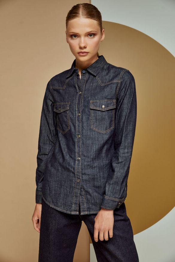 Blaise-w/r Denim Shirt