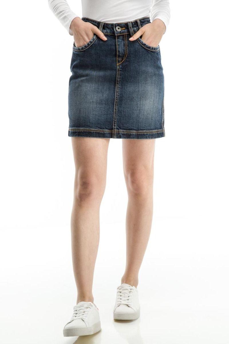 Sloane-Lc Denim Skirt