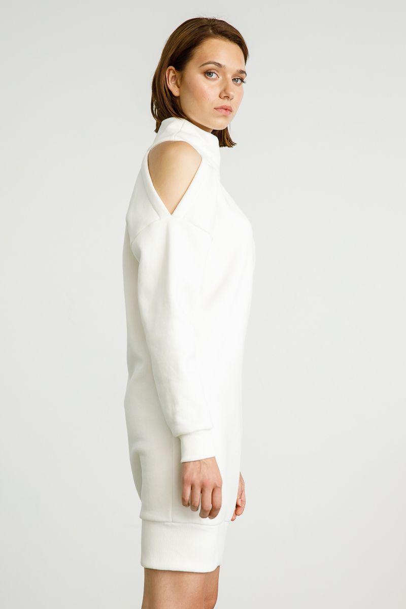 AMIRA SWEATSHIRT, WHITE