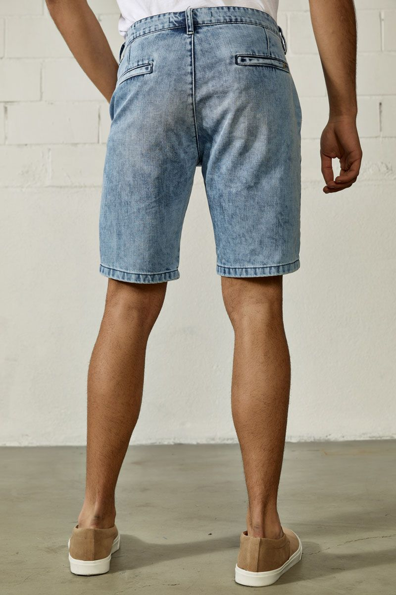 Prescott-Raj Denim Shorts