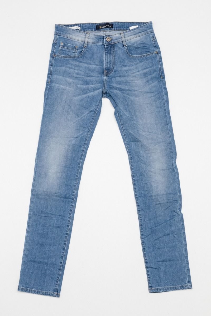 DU.SANTOS-S21 JEANS, LIGHT BLUE DENIM