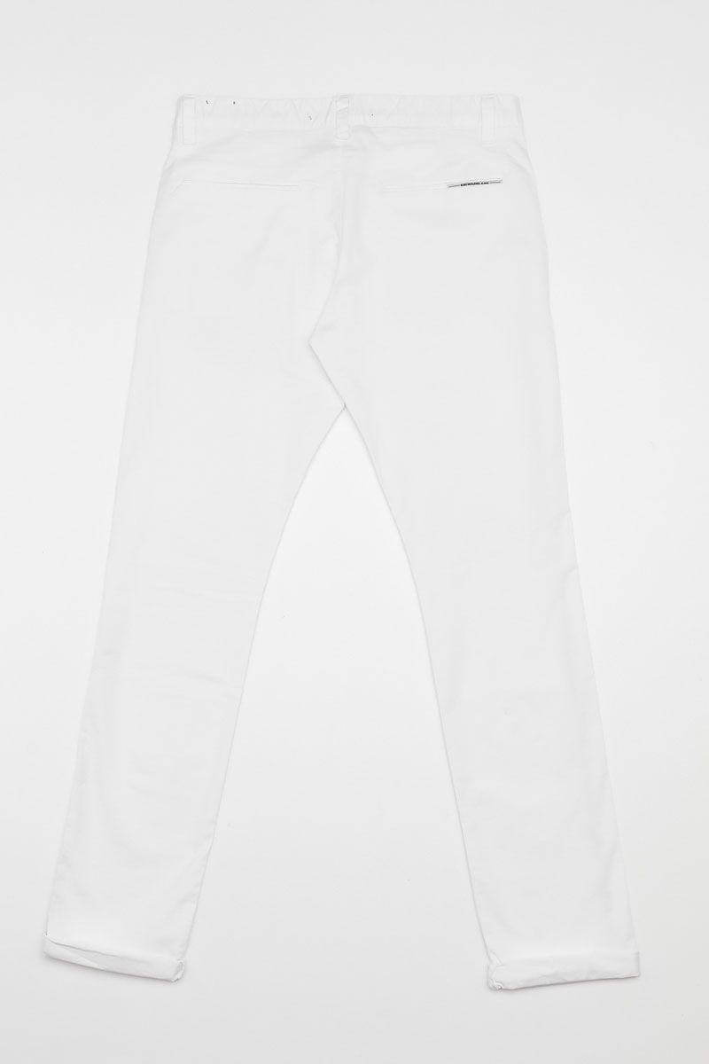 NASIR-S20 PANTS, WHITE