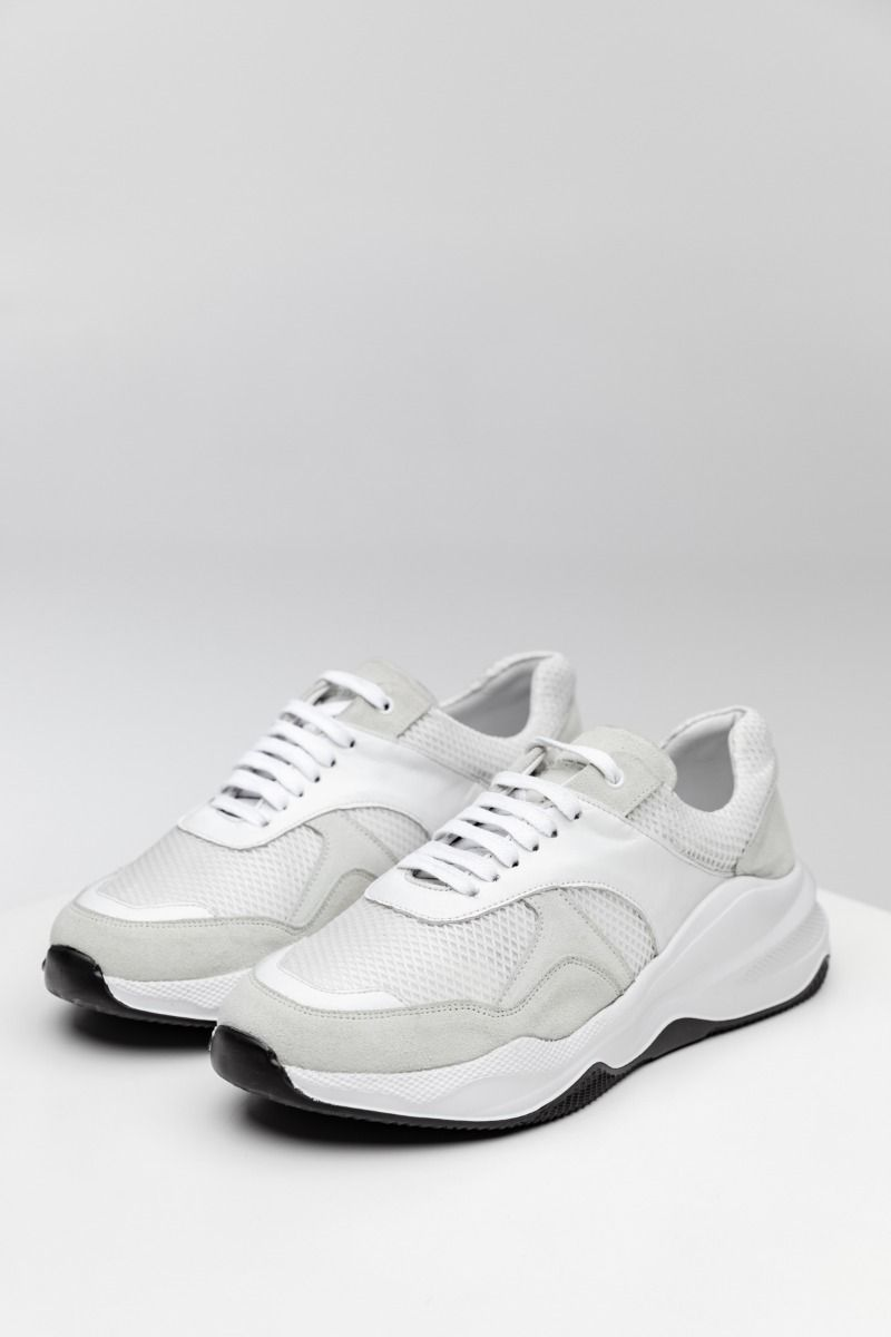 CN1 SNEAKERS, WHITE