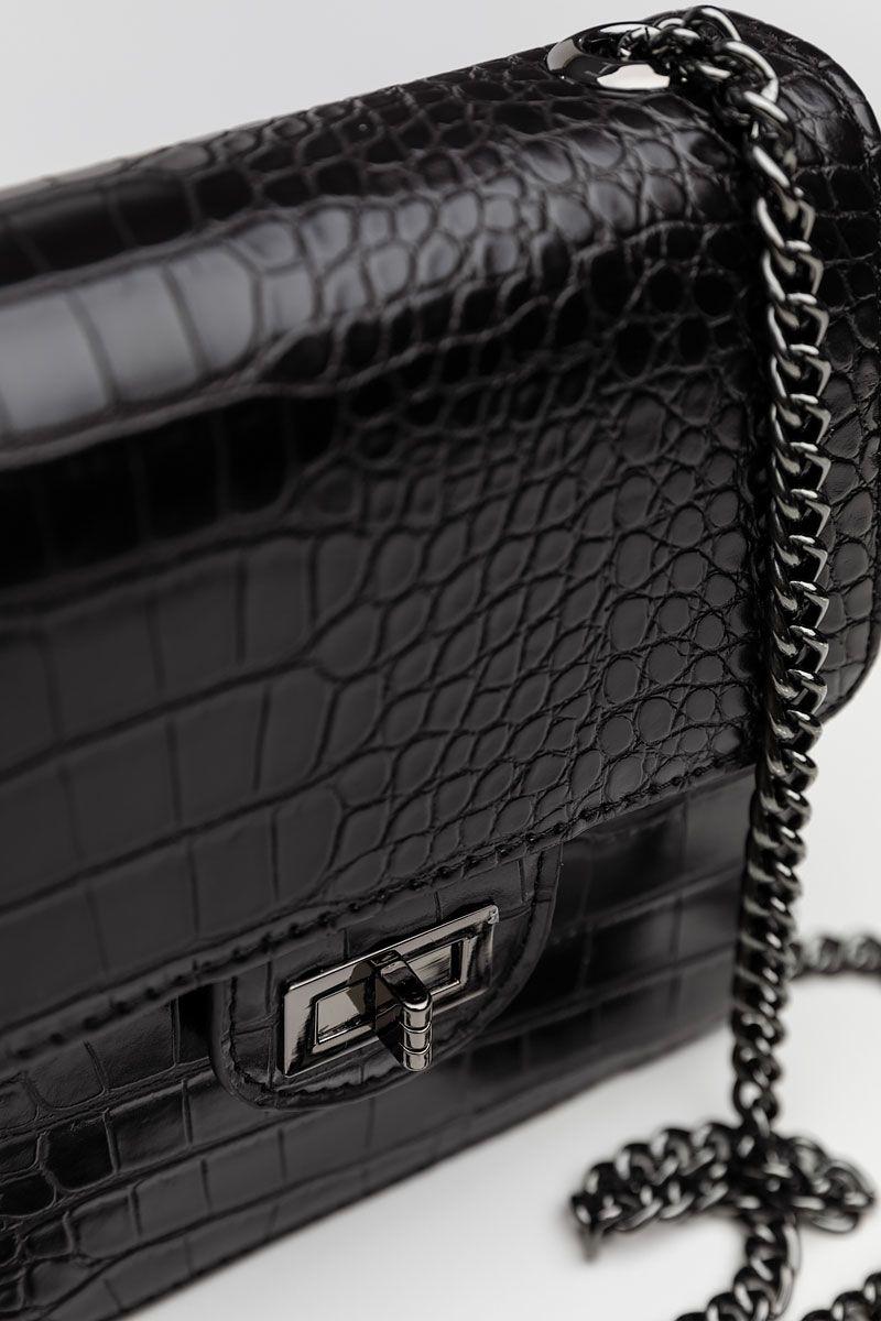 PH-1474   SHOULDER BAG, BLACK