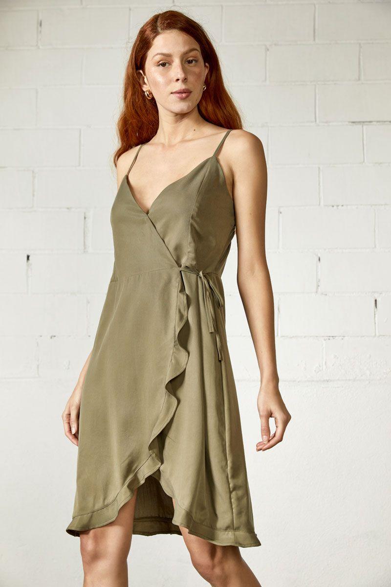 Jadiel-tt Dress, ARMY