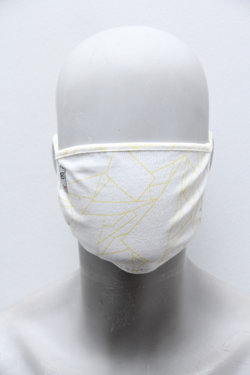 PLAIN PROTECTION MASK, YELLOW