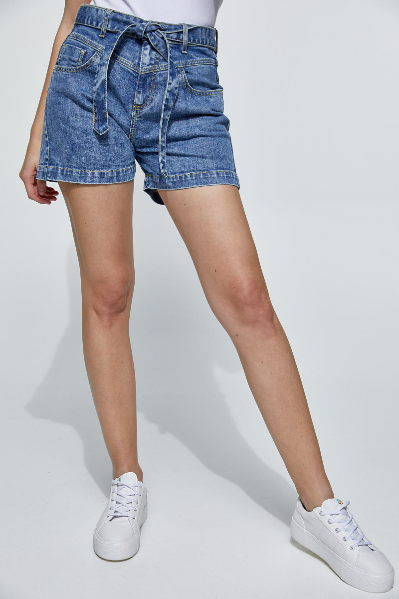 Lian-957 Denim Shorts