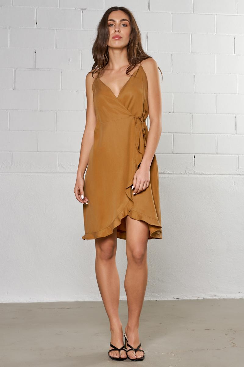 Jadiel-tt Dress, ALMOND