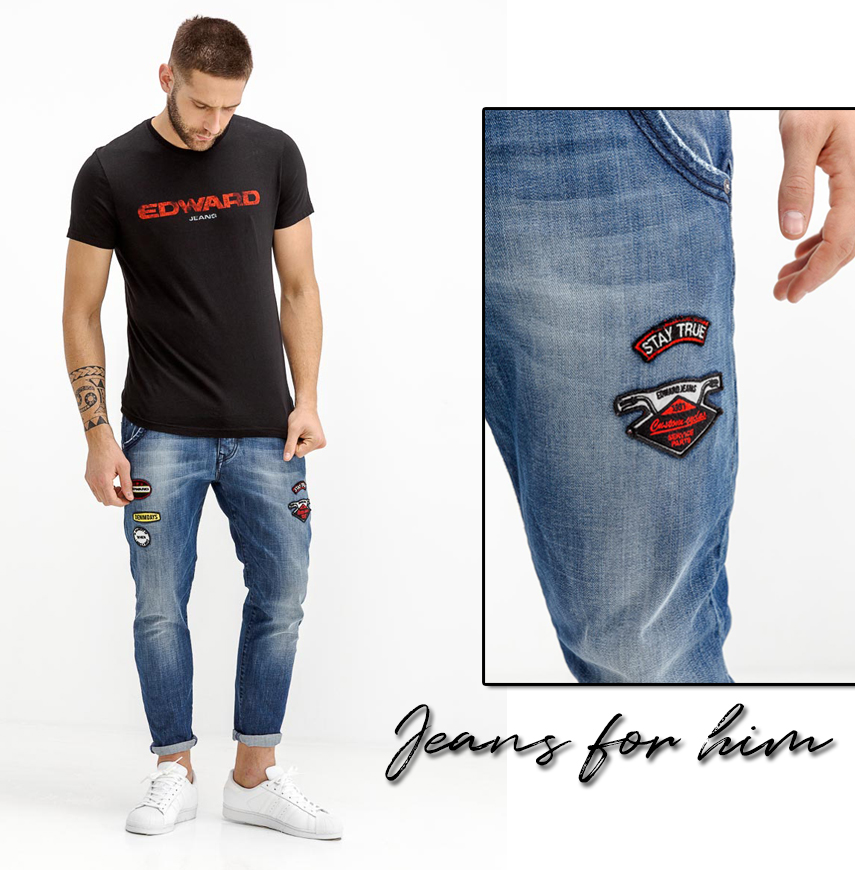 Jeans for him