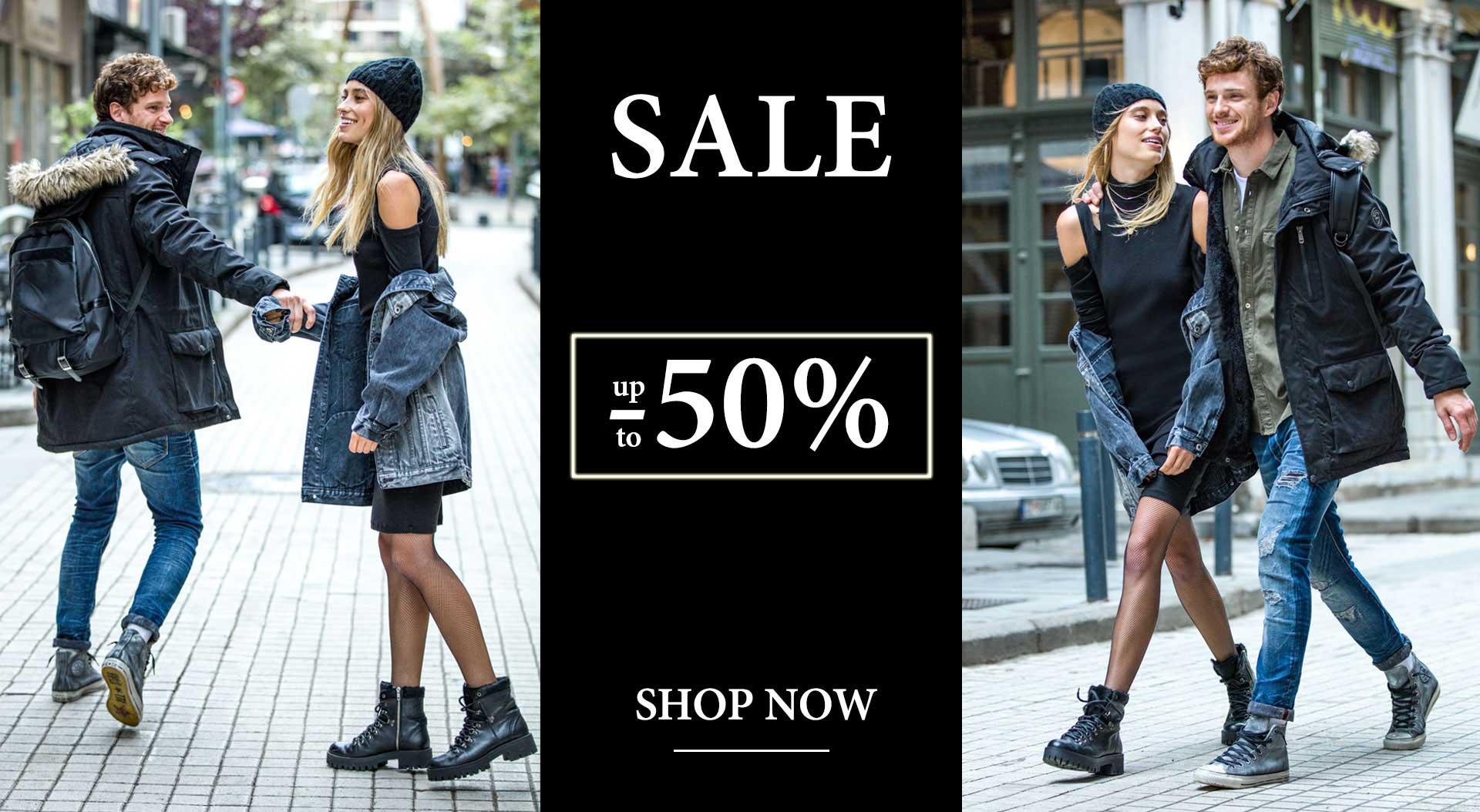 Sale 50% off